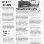 Harwell News #001