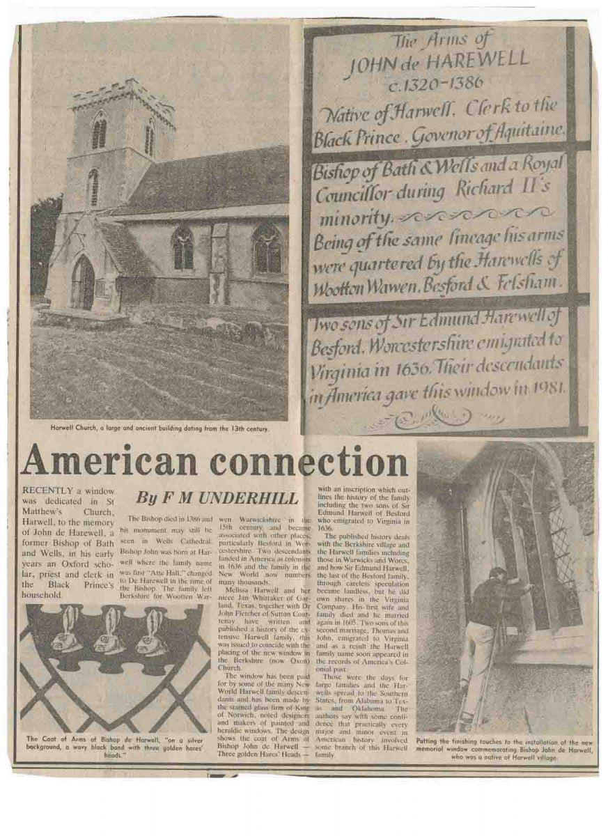 American visit